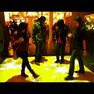 Interactive dancing
