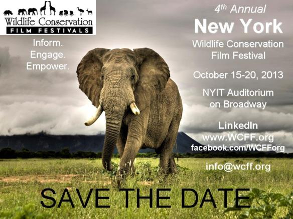 Save The Date - 4th Annual New York Wildlife Conservation Film Festival