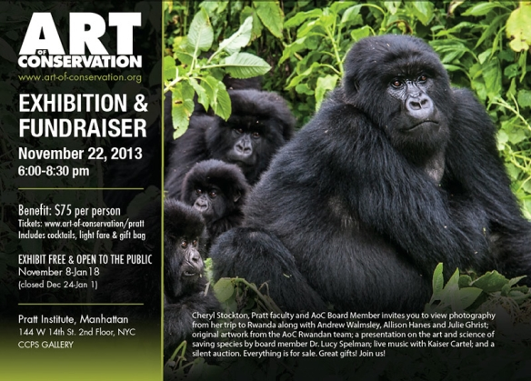 Art of Conservation Exhibition and Fundraiser this Friday November 22nd!